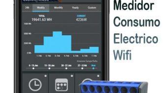 Medidor de Consumo eléctrico wifi Shelly EM