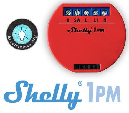 Medidor de Consumo eléctrico wifi Shelly 1PM