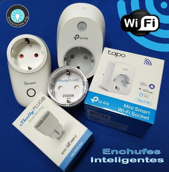 Enchufes wifi para domotica en casa