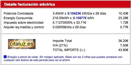 Pepeenergy te vende la energía renovable a precio de coste y solo cobra 1 euro para sus gastos más 25 centimos para un seguro: si te quedas en paro no pagas.