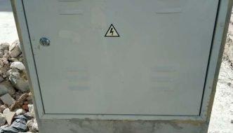 Cuadro eléctrico de obra